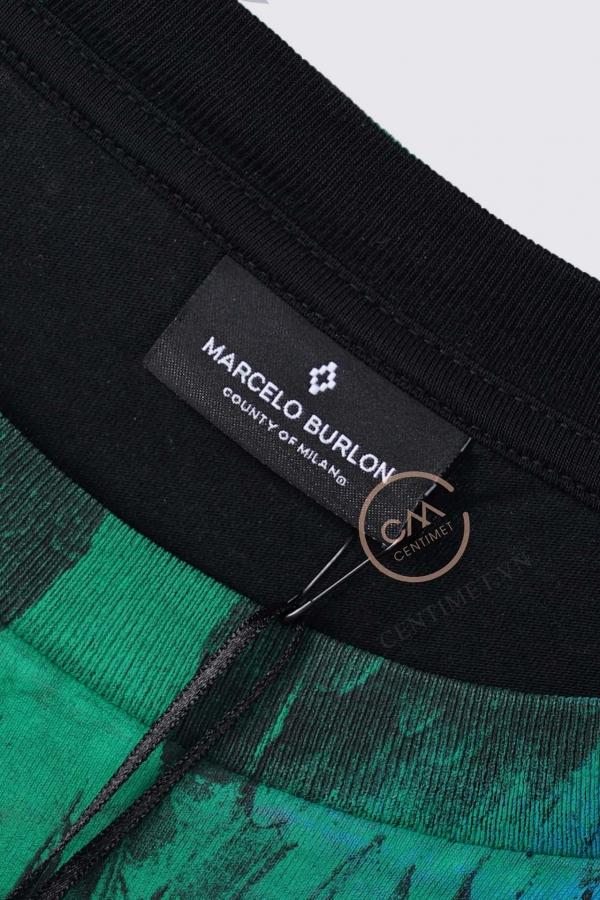 Logo thương hiệu Áo phông Marcelo Burlon nhiều màu