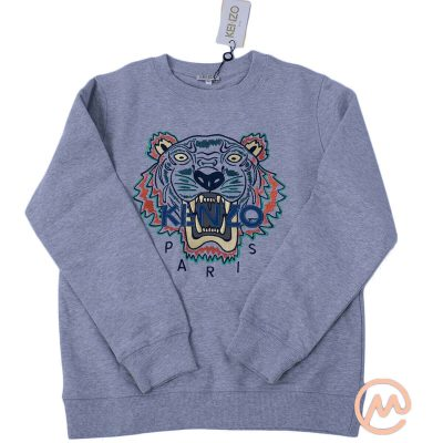 Áo nỉ Kenzo Tiger Sweatshirt in Grey