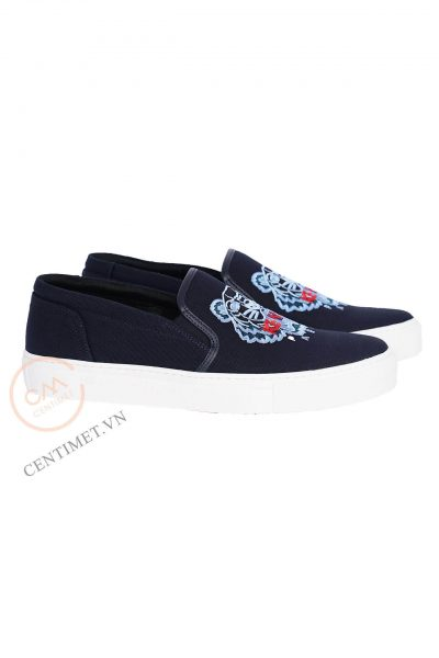 Giày KENZO Tiger embroidered slip-on sneakers