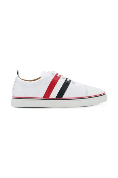 Giày Thom Browne Canvas Tricolour Sneakers