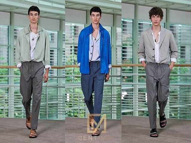 BST Menswear Hermès Xuân Hè 2021
