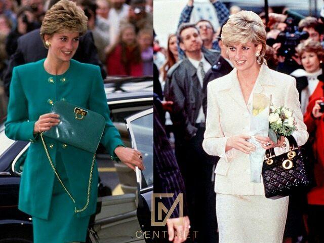 túi xách mang tên công nương Diana